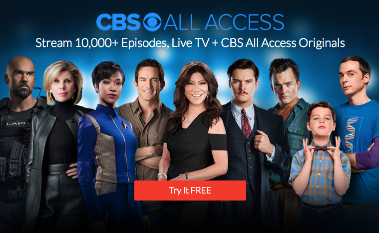 CBS All Access arrives in Canada - Get your one month free